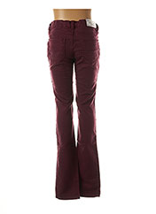 Pantalon casual rouge BECKARO pour fille seconde vue