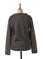 Sweat-shirt gris BECKARO pour fille seconde vue