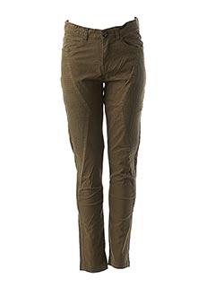 Pantalon casual vert BECKARO pour fille