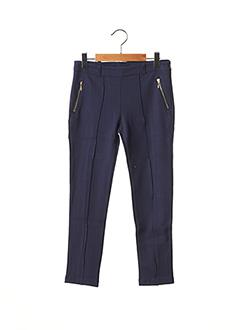 Pantalon casual bleu LILI GAUFRETTE pour fille
