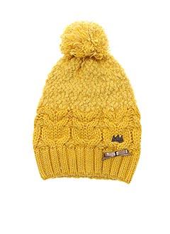 Bonnet jaune CATIMINI pour fille