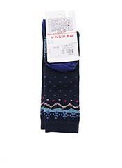 Collants bleu CATIMINI pour fille seconde vue