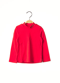Sous-pull rouge CATIMINI pour fille