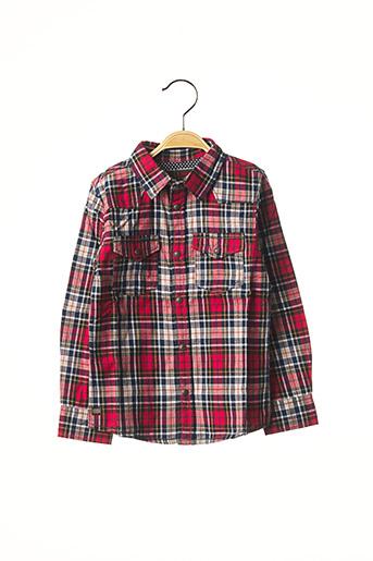 Chemise manches longues rouge CATIMINI pour garçon