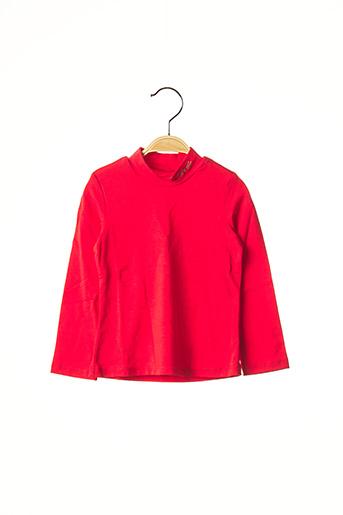 Sous-pull rouge CATIMINI pour fille