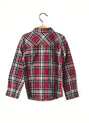 Chemise manches longues rouge CATIMINI pour garçon seconde vue