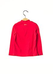 Sous-pull rouge CATIMINI pour fille seconde vue