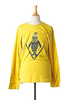 T-shirt manches longues jaune CATIMINI pour garçon