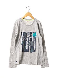 T-shirt manches longues gris CATIMINI pour garçon