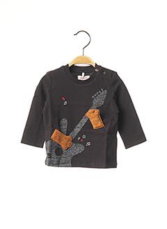 T-shirt manches longues noir CATIMINI pour garçon