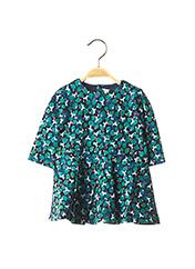 Robe mi-longue vert CATIMINI pour fille seconde vue
