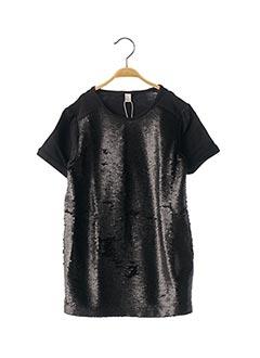 T-shirt manches courtes noir ESPRIT pour fille