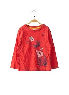 T-shirt manches longues rouge ESPRIT pour fille