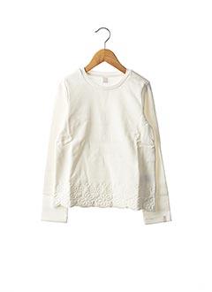 Sweat-shirt blanc ESPRIT pour fille