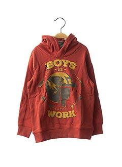 Sweat-shirt orange ESPRIT pour garçon