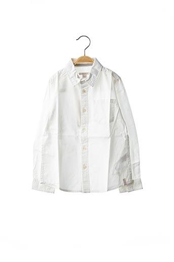 Chemise manches longues blanc ESPRIT pour garçon