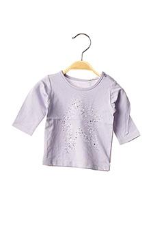 T-shirt manches longues violet ESPRIT pour fille