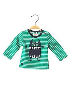 T-shirt manches longues vert CATIMINI pour garçon