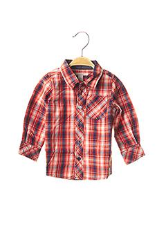 Chemise manches longues orange ESPRIT pour garçon
