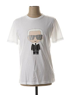 Produit-T-shirts-Homme-KARL LAGERFELD