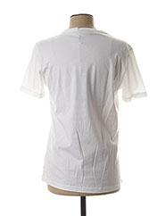 T-shirt manches courtes blanc KARL LAGERFELD pour homme seconde vue
