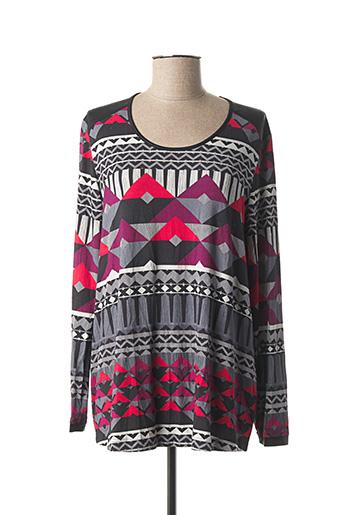 T-shirt manches longues gris APRICO pour femme