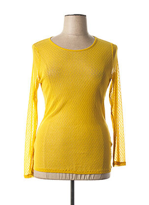 Top jaune MALOKA pour femme