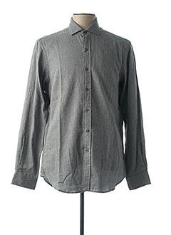 Chemise manches longues gris RALPH LAUREN pour homme