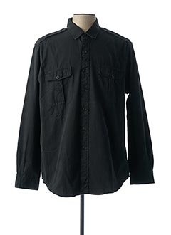 Chemise manches longues noir RALPH LAUREN pour homme