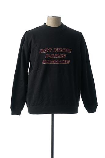Sweat-shirt noir DROLE DE MONSIEUR pour homme