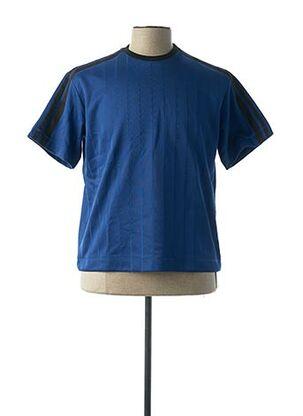 T-shirt manches courtes bleu DIESEL BLACK GOLD POUR LE PRINTEMPS pour homme
