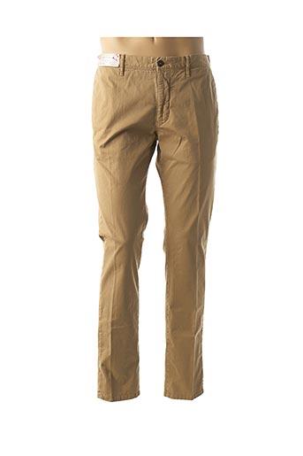 Pantalon casual beige INCOTEX pour homme