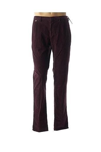 Pantalon casual rouge INCOTEX pour homme