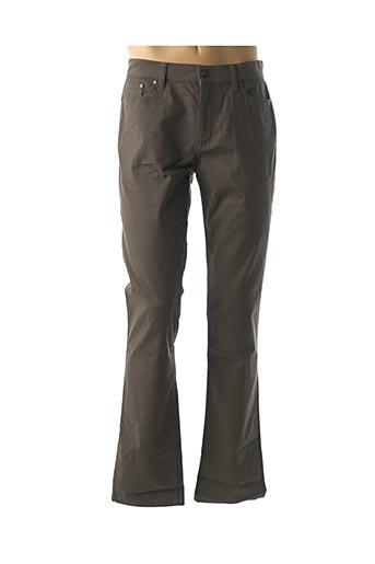 Pantalon casual vert AGNES B pour homme