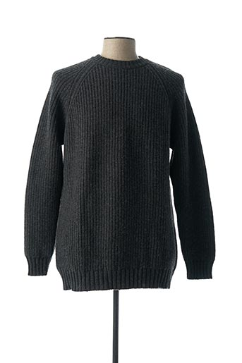 Pull col rond gris E.TAUTZ pour homme