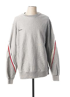 Sweat-shirt gris FACETASM pour homme