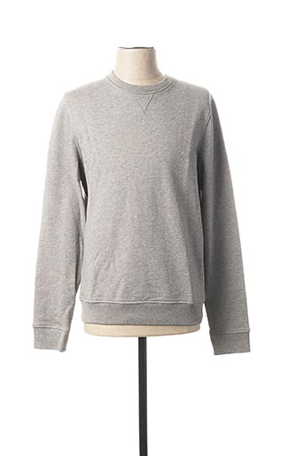 Sweat-shirt gris GEYM pour homme