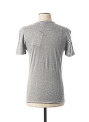 T-shirt manches courtes gris DANIEL CREMIEUX pour homme seconde vue