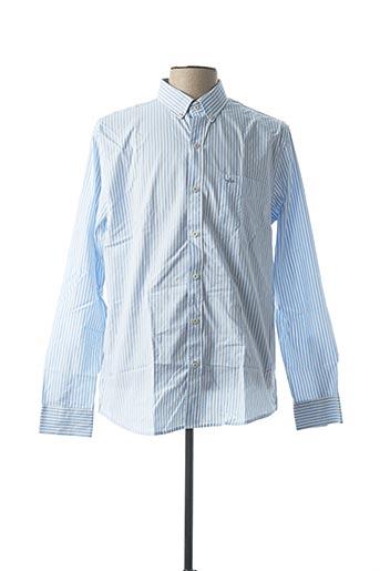 Chemise manches longues bleu ARROW pour homme