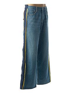 Jeans coupe large bleu FACETASM pour homme