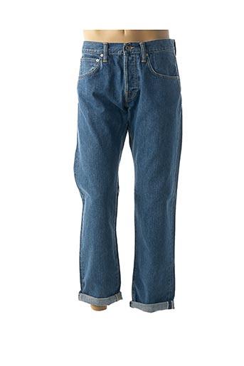 Jeans coupe droite bleu EDWIN pour homme