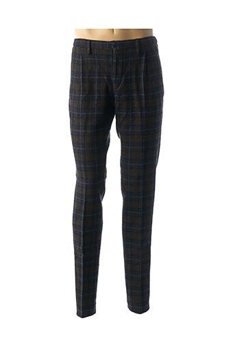 Pantalon chic bleu INCOTEX pour homme