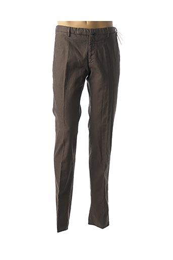 Pantalon chic marron INCOTEX pour homme