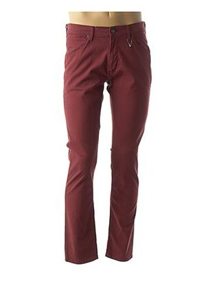 Pantalon casual rouge WRANGLER pour homme