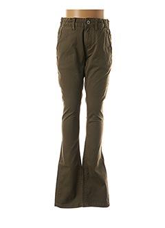 Pantalon casual vert PEPE JEANS pour enfant