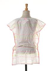 Robe mi-longue blanc SUNUVA pour fille seconde vue