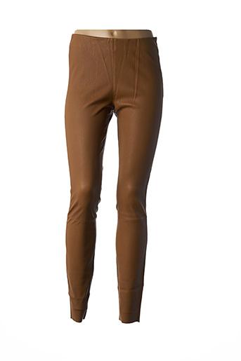 Legging marron BY MALENE BIRGER pour femme