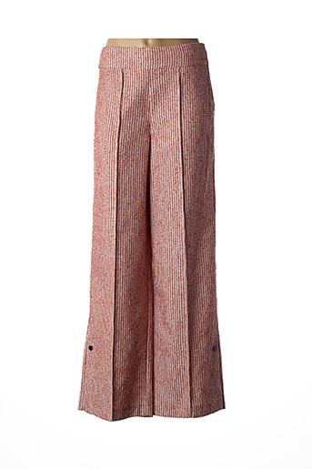 Pantalon chic rouge BY MALENE BIRGER pour femme