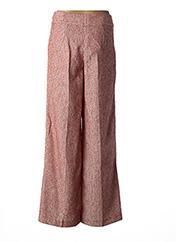 Pantalon chic rouge BY MALENE BIRGER pour femme seconde vue