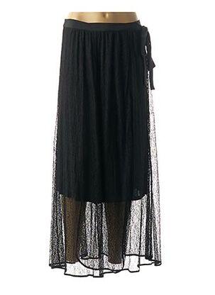 Jupe longue noir BY MALENE BIRGER pour femme
